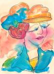 Watercolor by Atamayka
