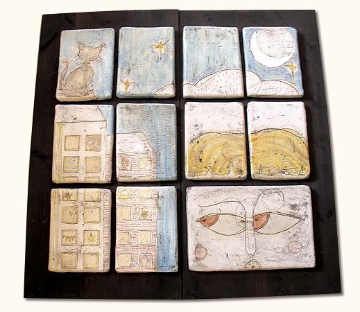 Ceramic Illustrations by Atamayka
