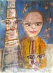 Painting by Atamayka - Zweifel (in Doubt)