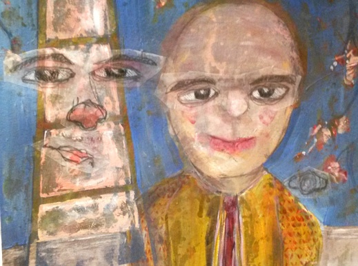 Serendipitous painting by Atamayka